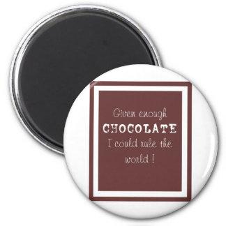 chocolate magnet