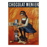 Chocolate Menier Print