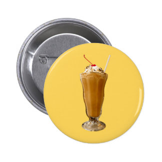 Chocolate Milkshake 6 Cm Round Badge