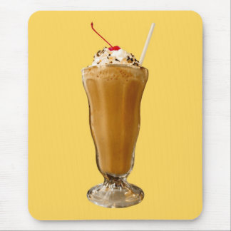 Chocolate Milkshake Mouse Pad