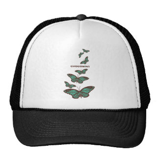 Chocolate mint _butterfly hat