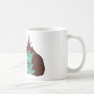 Chocolate mint _cat mugs