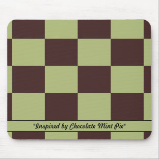 Chocolate Mint Pie Colors Mouse Pad