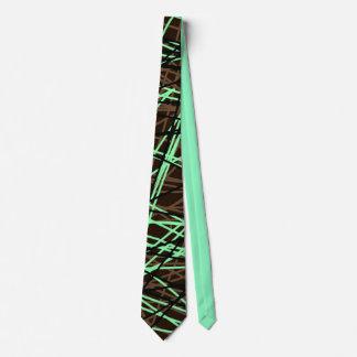 chocolate mint string tie