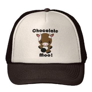Chocolate Moo Kawaii Cow Cap