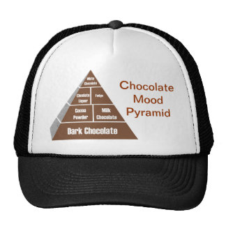 Chocolate Mood Pyramid Trucker Hat
