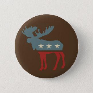 Chocolate Moose 6 Cm Round Badge