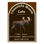 Chocolate Moose Cafe Greeting Card
