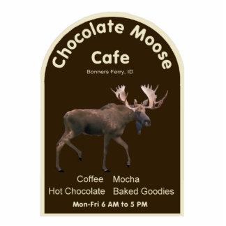 Chocolate Moose Cafe Photo Sculpture Magnet