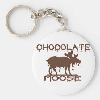 Chocolate Moose Key Ring