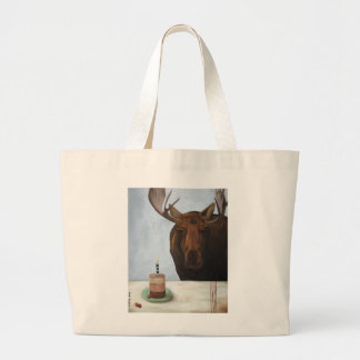 Chocolate Moose Large Tote Bag