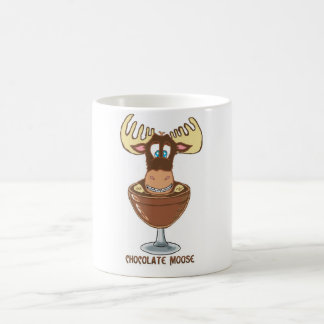 Chocolate  Moose Magic Mug