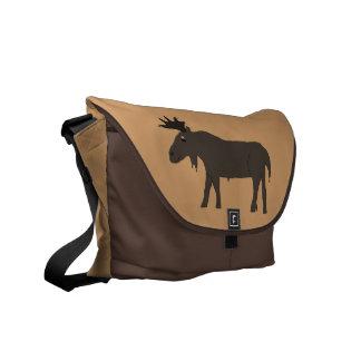 Chocolate Moose messenger bag