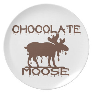 Chocolate Moose Plate
