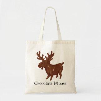 Chocolate Moose TOTE Budget Tote Bag
