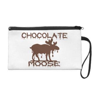 Chocolate Moose Wristlet Purse