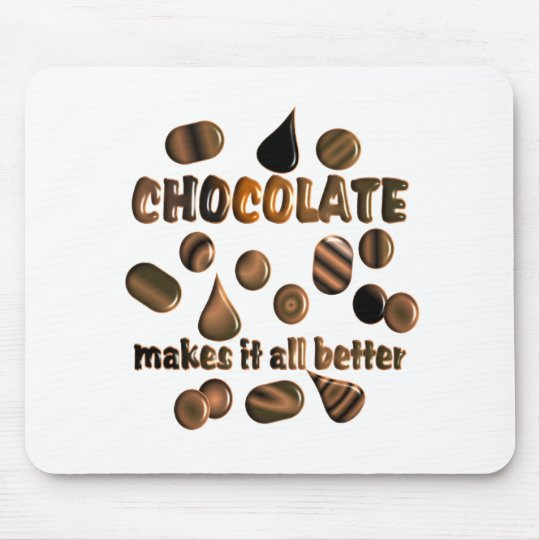 Chocolate Mouse Mat