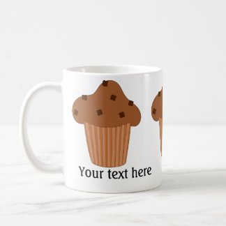 Chocolate Muffin: Add Your Text Mug