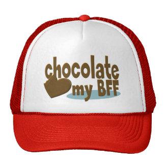 Chocolate My BFF Mesh Hats