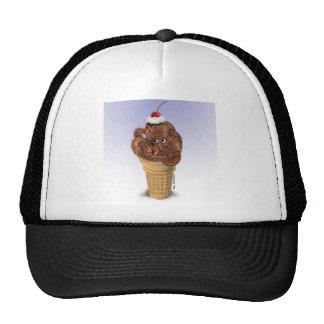 Chocolate Octopus Ice Cream Cap