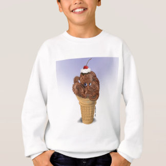 Chocolate Octopus Ice Cream Sweatshirt