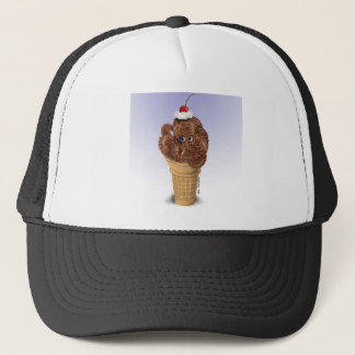 Chocolate Octopus Ice Cream Trucker Hat