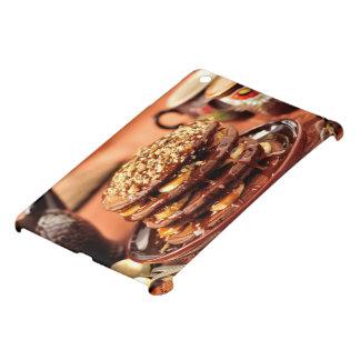 Chocolate Pancakes with Bananas and Caramel iPad Mini Cover