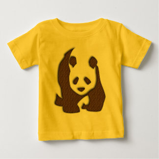 Chocolate Panda infant t-shirt