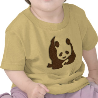 Chocolate Panda infant t-shirt