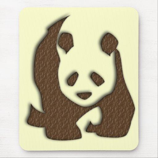 Chocolate Panda mousemat