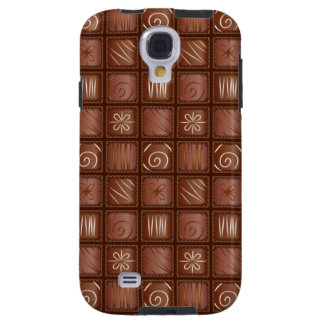 Chocolate Pattern Galaxy S4 Case