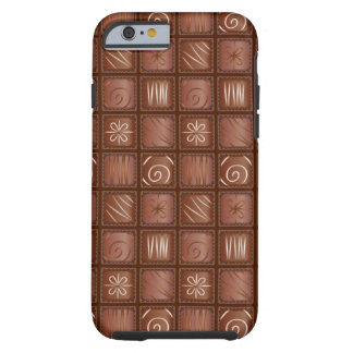 Chocolate Pattern Tough iPhone 6 Case