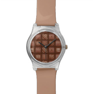 Chocolate Pattern Wristwatches