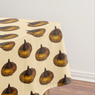 Chocolate Peanut Butter Blossom Bakery Cookie Food Tablecloth