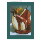 Chocolate Pears: Happy Anniversary To Sweet Pair Card