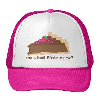 chocolate pie hat- you wanna piece of me? cap