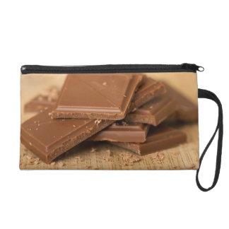 Chocolate pieces wristlet