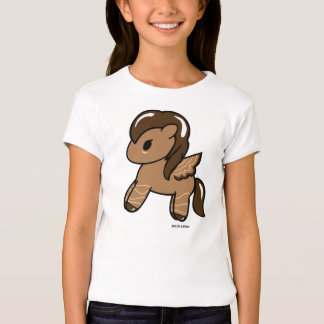 Chocolate Pony| Girls' T-Shirt Dolce & Pony
