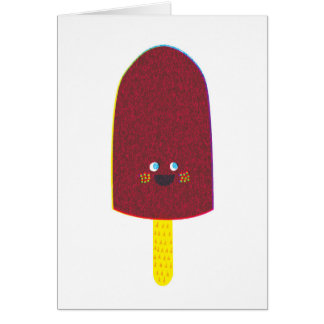 Chocolate Popsicle Greeting Card