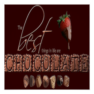Chocolate - Poster