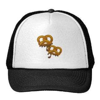 Chocolate Pretzels Mesh Hat