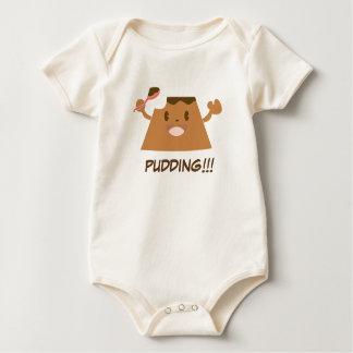 Chocolate PUDDING!!!! Baby Bodysuit