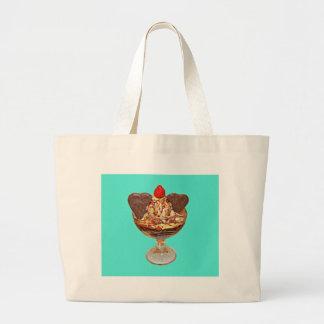 Chocolate Pudding Large Tote Bag