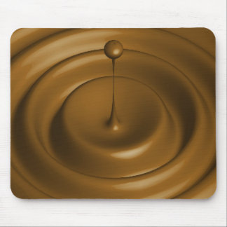 Chocolate Pudding Theme Mouse Mat
