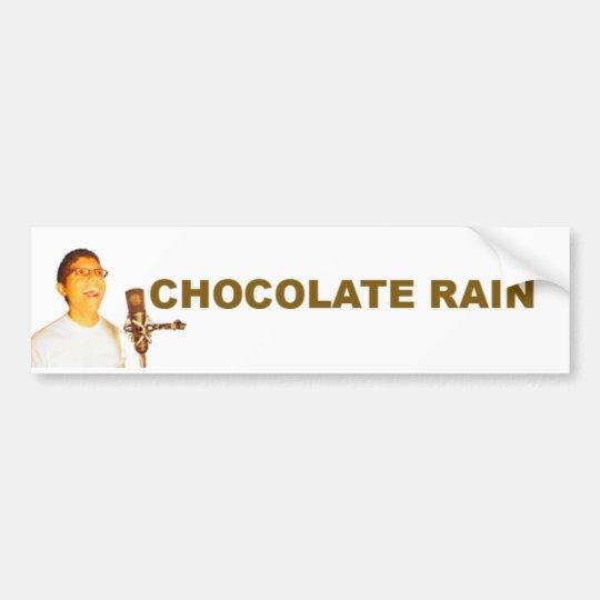 Chocolate Rain Bumper Sticker