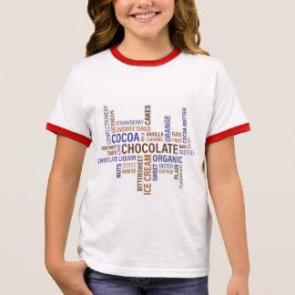 Chocolate Ringer T-Shirt