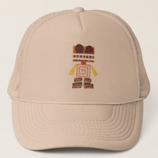 Chocolate Robot Baseball Cap