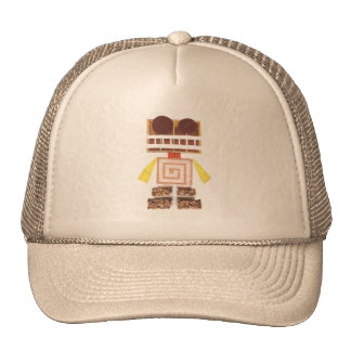 Chocolate Robot Baseball Cap Trucker Hat