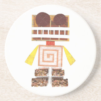 Chocolate Robot Coasters