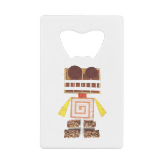 Chocolate Robot Credit Card Bottle Opener